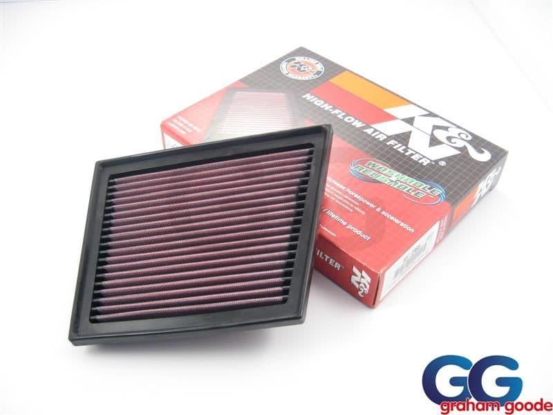 Fiesta Zetec S Mk7 08> K&N Air Filter Replacement Panel 33-2955