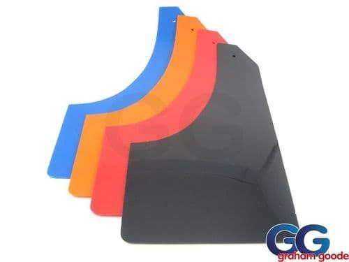 Focus ST ST225 Mudflap Set of 4 PVC Black, White or Blue