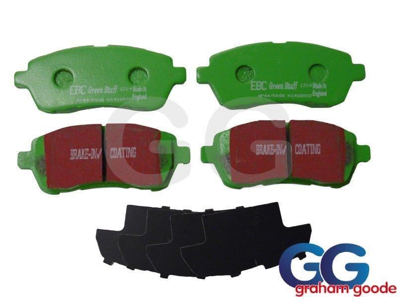 Ford Fiesta Zetec S S1600 Front EBC Greenstuff Brake Pads DP22002