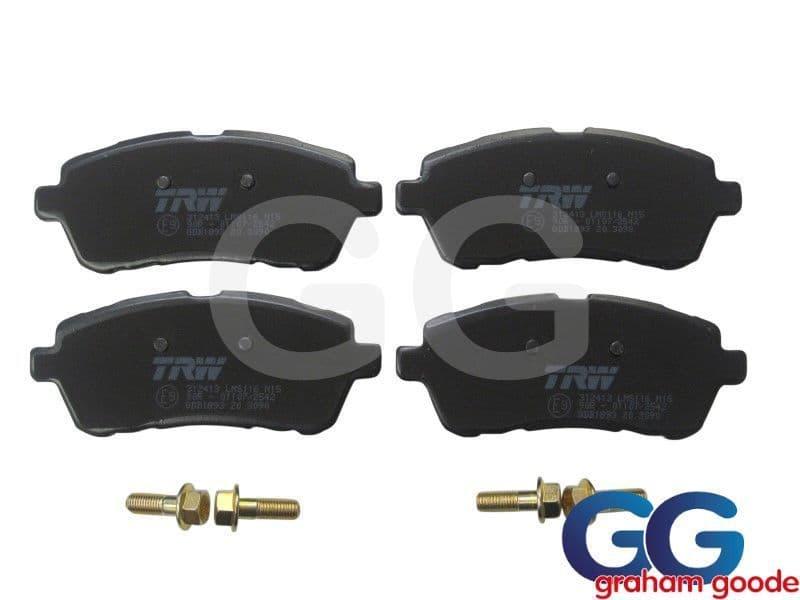 Front Brake Pads Set Ford Fiesta Zetec S1600 mk7 Standard TRW GGF1071