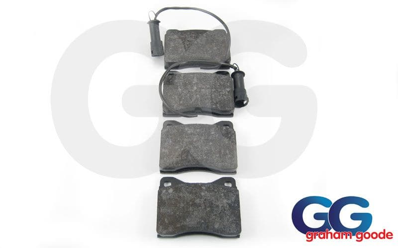 Front Brake Pads Sierra & Sapphire Cosworth 2wd GGR581
