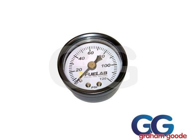 Fuelab EFI Fuel Pressure Gauge 0-120 PSI 1.5