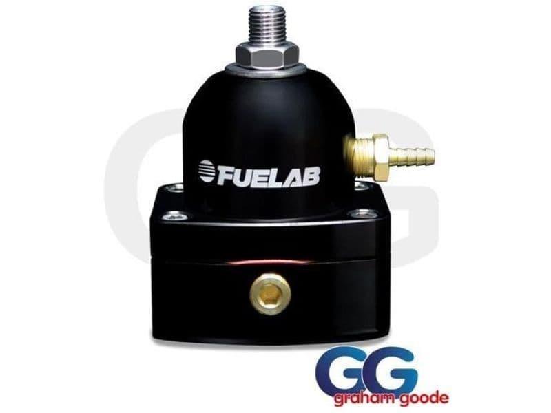 Fuelab Fuel Pressure Regulator Black 515 Twin -10AN Inlet EFI 51501-1