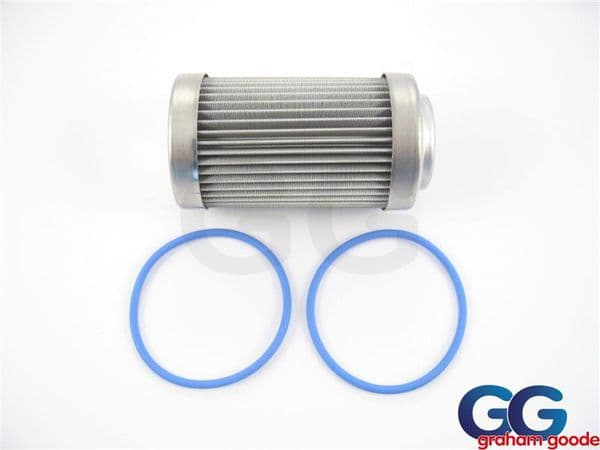 Fuelab Replacement Fuel Filter Element 40 Micron S/S 71802