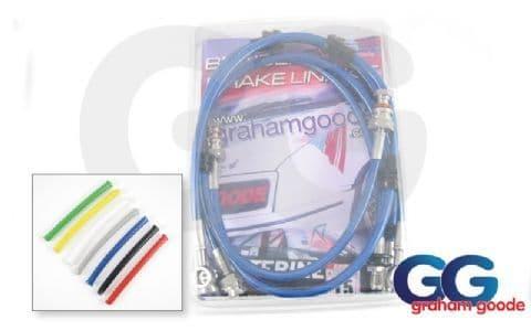 GGR Ford Fiesta Zetec S S1600 mk8 Brake Line Hose Kit 4 Line Kit GGF1053