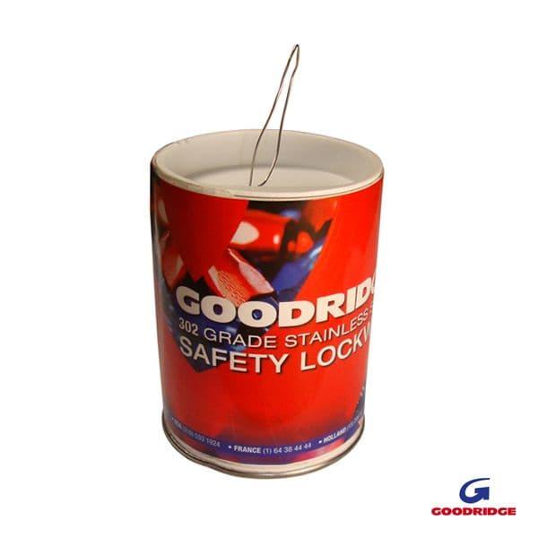 Goodridge Lockwire 0.024 -0.62MM 302 GRADE 0.45kg LWD596