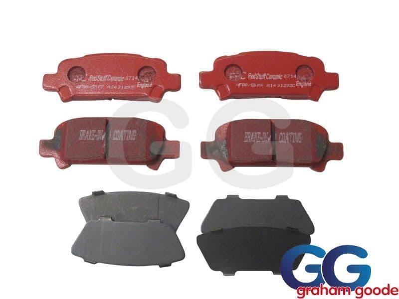 Impreza Rear Brake Pads EBC Redstuff Sliding Caliper Uprated Ceramic DP31293C