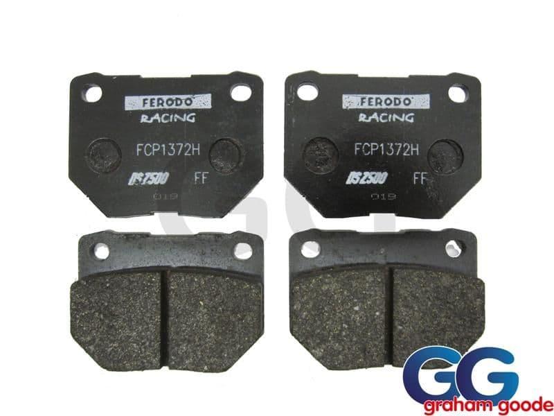 Impreza Rear Brake Pads Twin Pot Ferodo DS2500 FCP1372H GGS2240