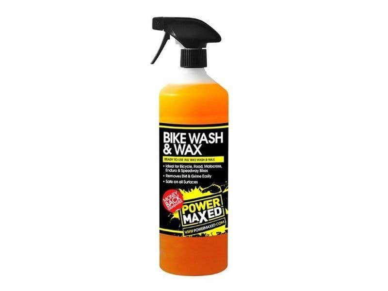 Power Maxed Bike Wash And Wax