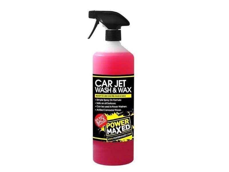 Power Maxed Car Jet Wash & Wax