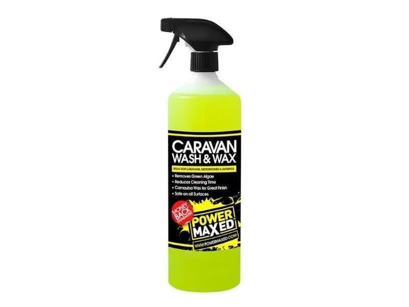 Power Maxed Caravan Wash And Wax