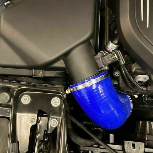 PSH Silicone Hose Air Box Induction Blue | BMW M140i B58
