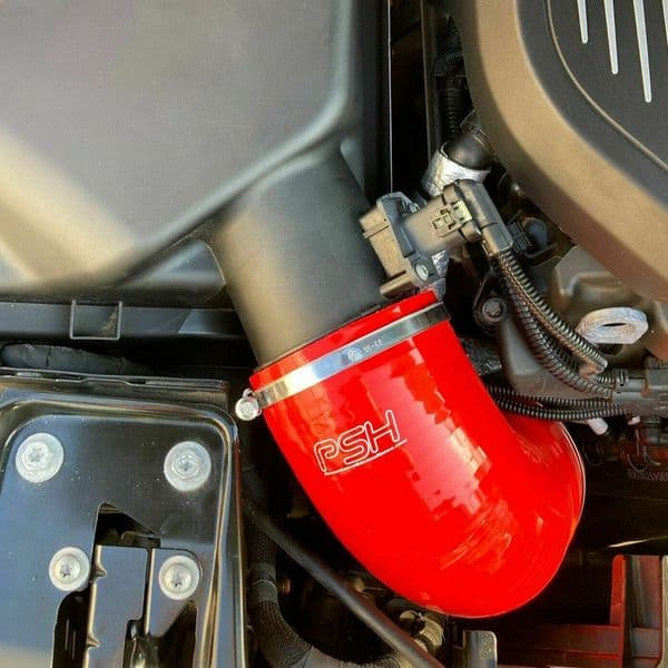 PSH Silicone Hose Air Box Induction Red for BMW M140i B58