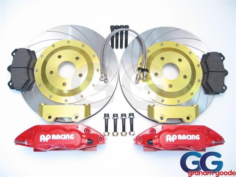 Rear AP Racing Big Brake Kit 310mm Subaru Impreza WRX STi Classic my93-01 CP7615-1002R2.G8