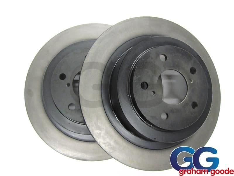 Rear Brake Discs Standard 290mm x2 Vented Impreza WRX STi 2001-2005 GGS1382