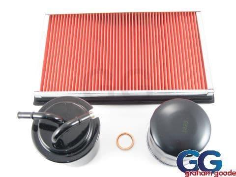 Subaru Impreza Turbo Classic 4 Part Service Kit Oil Air Fuel Filter Sump Washer GGS.SK