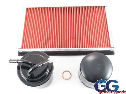Subaru Impreza Turbo Newage 4 Part Service Kit Oil Filter Air Filter Fuel Filter Sump Washer GGS.SK