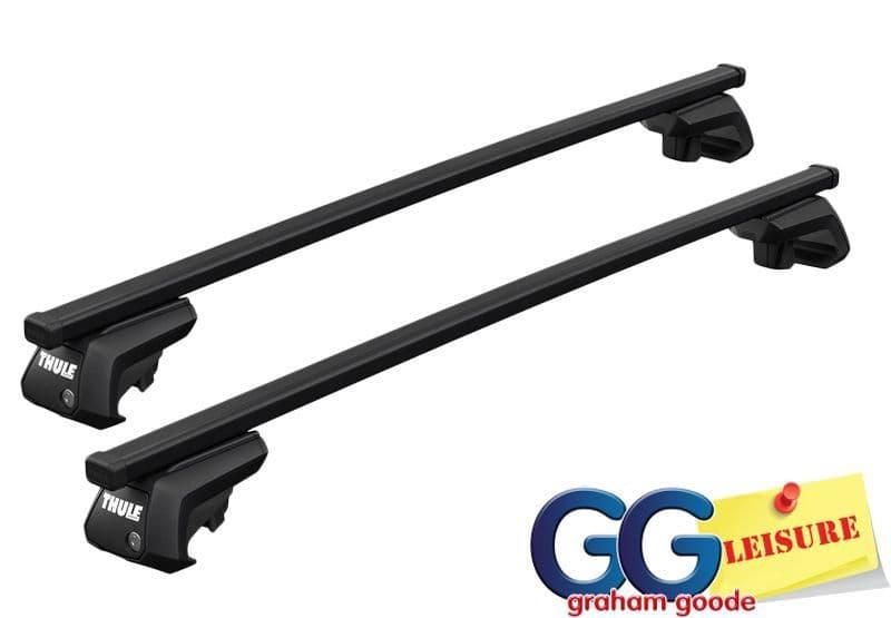 Thule Evo Square Roof Rack Rail Bars | Ford Ranger 2012 - Onwards