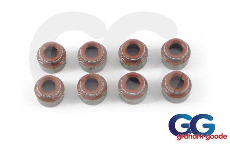 Valve Stem Oil Seals Inlet Set 8 Sierra Escort Cosworth GGR2191
