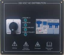 AC PANEL - 2 WAY CHANGEOVER PLUS MCBS