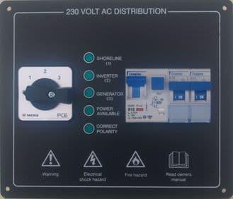 AC PANEL - 3 WAY CHANGEOVER PLUS MCBS