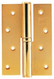 Mondeo Deluxe Hinges 120mm - Brassy Natural Gold Finish
