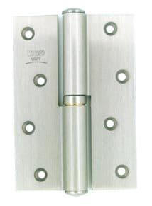 Mondeo Deluxe Hinges 120mm - Satin Silver Finish