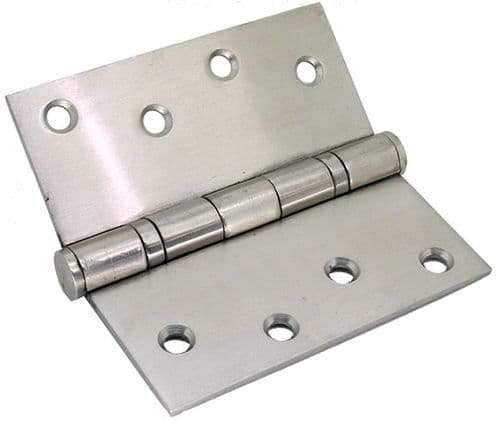 Solid Stainless Steel Heavy Duty Plain Bearing Hinges - 100x100mm