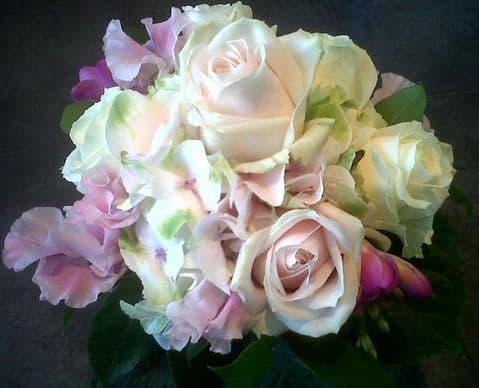 Bridesmaid's Pastel Bouquet
