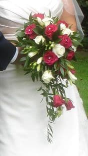 Burgundy & Ivory Wedding