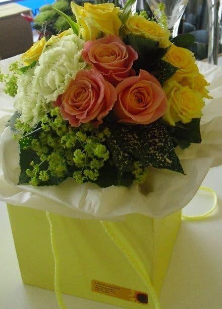 Handtied Bouquet Presentation