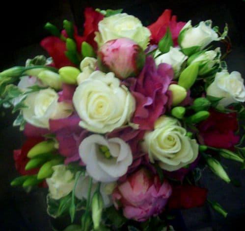 Ivory & Pinks Wedding
