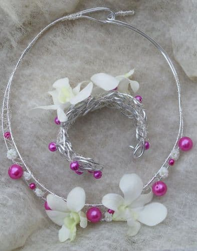 Wedding Flower Jewellery & Hair Accessories