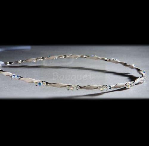 Στέφανα ασημένια R272 / Silver Stefana R272