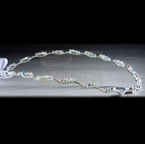 Στέφανα ασημένια R904 / Silver Stefana R904