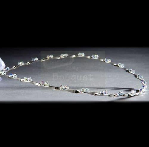 Στέφανα ασημένια R915 / Silver Stefana R915