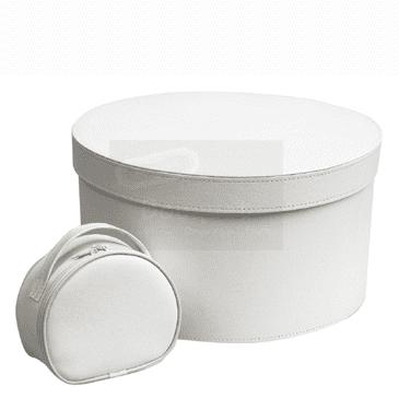 Christening box round / κουτί βάπτισης στρόγγυλο
