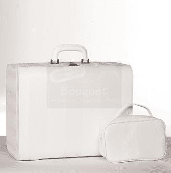 Christening box stripes / Τσάντα βάπτισης βαλίτσα ρίγες