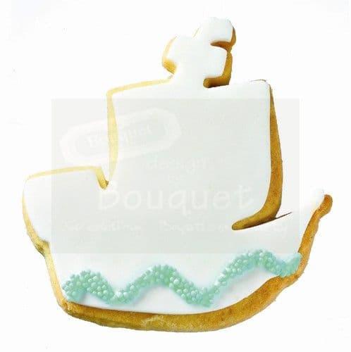Cookie boat / Μπισκότο βάπτισης καράβι