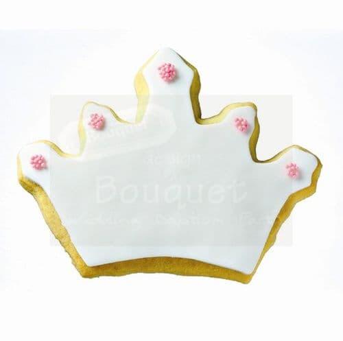 Cookie crown large - Μπισκότο κορώνα μεγάλη