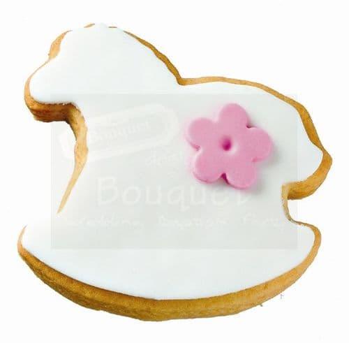 Cookie horse flower / Μπισκότο αλογάκι λουλούδι