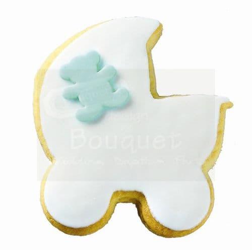 Cookie trolley with teddy bear / Μπισκότο καρότσι με αρκουδάκι