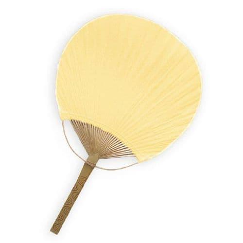 Ivory Paddle Fans Pack of 10 / Εντυπωσιακες Ιβουαρ Βενταλιες  Συσκευασια των 10τμχ