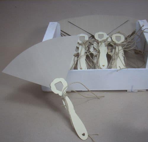 Handmade paper hand fans for wedding, baptism, party / Χειροποίητες βεντάλιες γάμου, βάπτισης, πάρτυ
