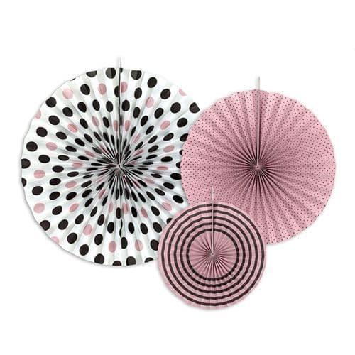 Sweet Paper Rosettes Set of 3 - Γλυκιες Χαρτινες ροζετες Σετ των 3