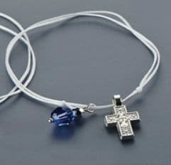 Witness pins bracelets with a crystal 50pcs / Μαρτυρικά βραχιολάκι με κρύσταλλο 50τμχ