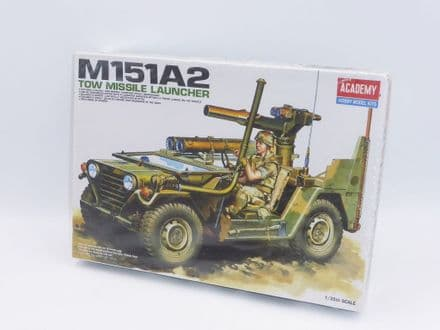 Academy Plastic Kit No 13406 1/35th - M151A2 Tow Missile Launcher