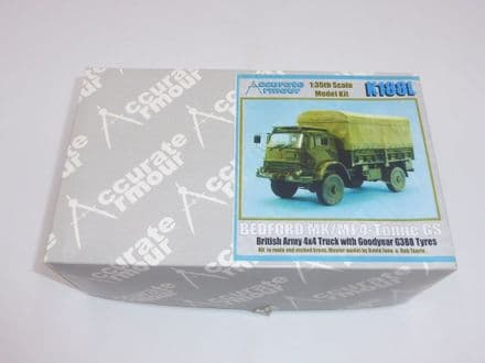 Accurate Armour Resin Kit K188L - British Bedford Mk/MJ 4-Tonne GS