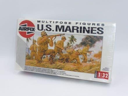 Airfix Plastic Model Kit 04583 - U.S. Marines Multipose Figures 1/32 Scale