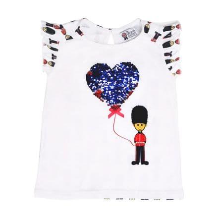BR7032 Sequin Balloon T-Shirt